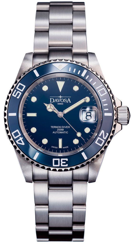 Davosa Watch Ternos Diver Ceramic #add-content #bezel-unidirectional #bracelet-strap-steel #brand-davosa #case-depth-12-5mm #case-material-steel #case-width-40mm #classic #date-yes #delivery-timescale-1-2-weeks #dial-colour-blue #gender-mens #limited-code #movement-automatic #new-product-yes #official-stockist-for-davosa-watches #packaging-davosa-watch-packaging #style-divers #subcat-ternos #supplier-model-no-16155540 #warranty-davosa-official-2-year-guarantee #water-resistant-200m