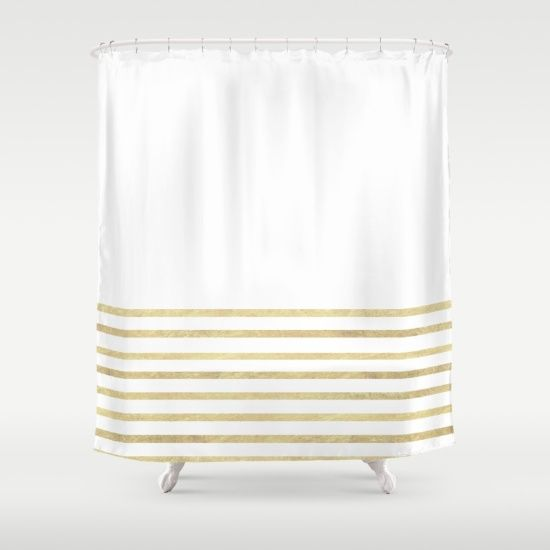 17 Best Ideas About Gold Shower Curtain On Pinterest Black And Grey Curtain