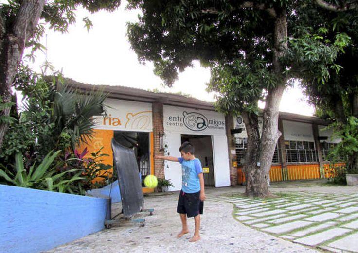 Le centre communautaire Entreamigos, à San Pancho, est aménagé dans d'anciens entrepôts.