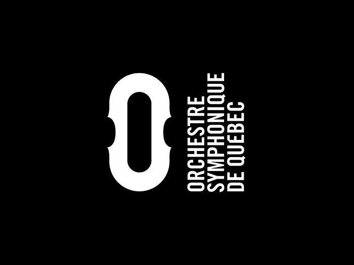 Orchestre symphonique de Québec by lg2 boutique. #branding