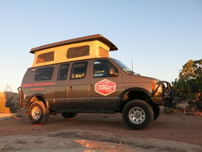 Tonto Trails Sportsmobile rentals...complete with Aluminess front and rear bumpers!