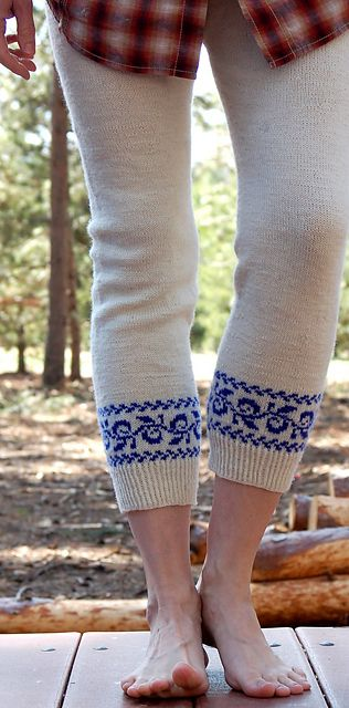 Hee Hee - i'd wear them on a cold winter morning with breakfast and a cup of coffee  -  (wooly wednesday | Sheepy Hollow Farm Life)