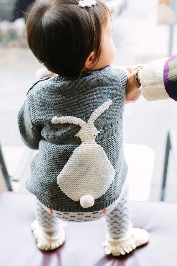 stella mccartney kids ash bunny jumper / shop sweet things