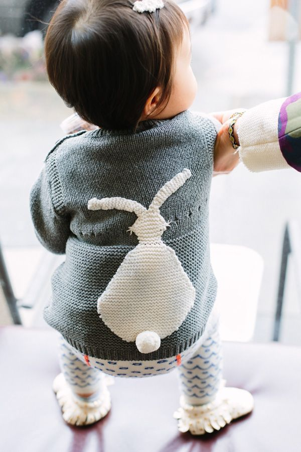 Stella McCartney Kids Ash Bunny Jumper | Playdate - Shop Sweet Things