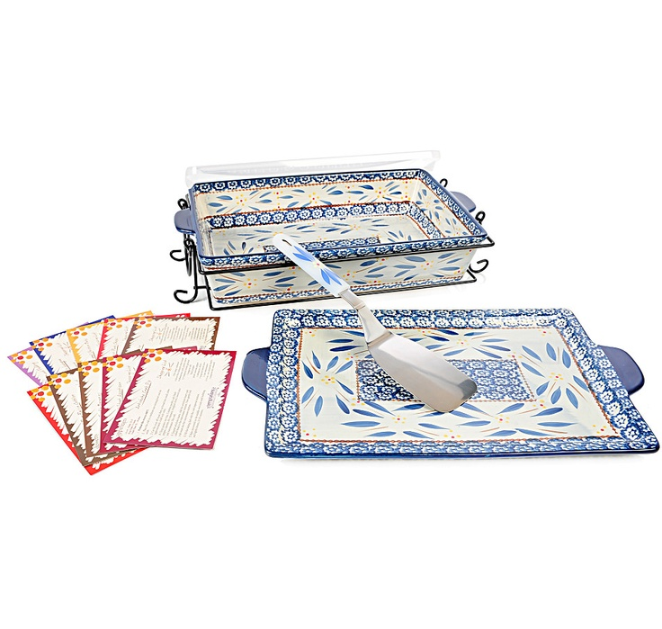 Buy temp-tations Old World 5 Piece Lid-It Baker Set with Server & Wire Rack, temp-tationsand Oven to Table from The Shopping Channel, Canada's home shopping network-Online Shopping for Canadians