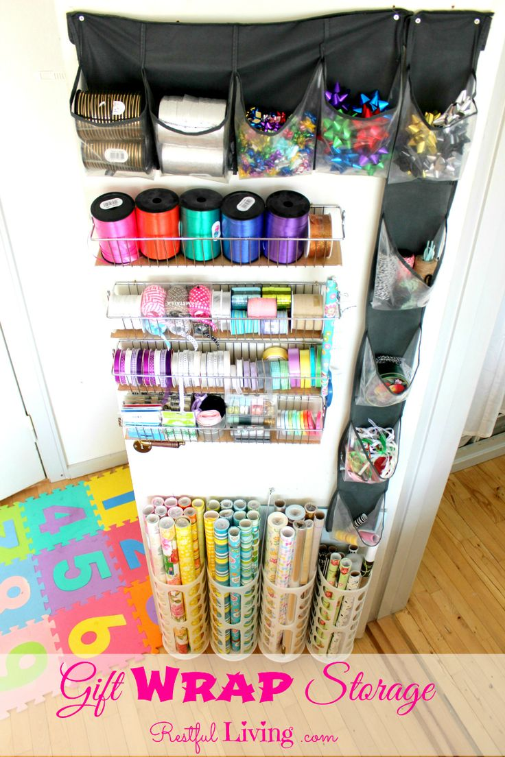 Best 25+ Wrapping paper storage container ideas on Pinterest | DIY ...
