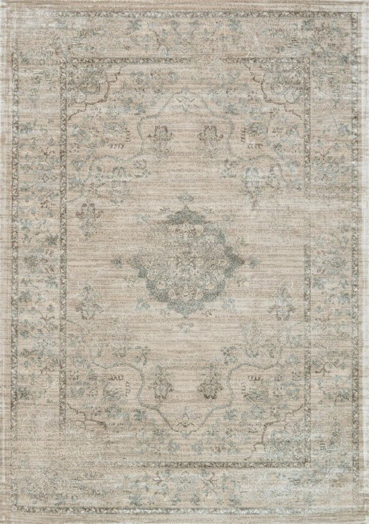 Loloi Rugs, Nyla Collection, Beige and Blue (Gray)