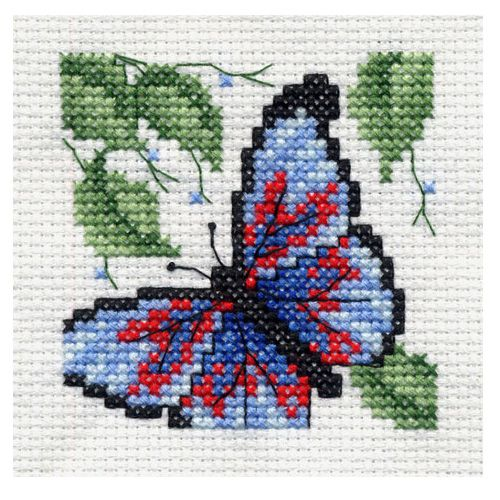 bucilla 174 counted cross stitch beginner stitchery mini