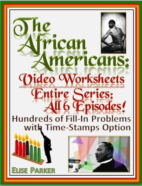 the african americans many rivers to cross worksheets for entire series. Black Bedroom Furniture Sets. Home Design Ideas