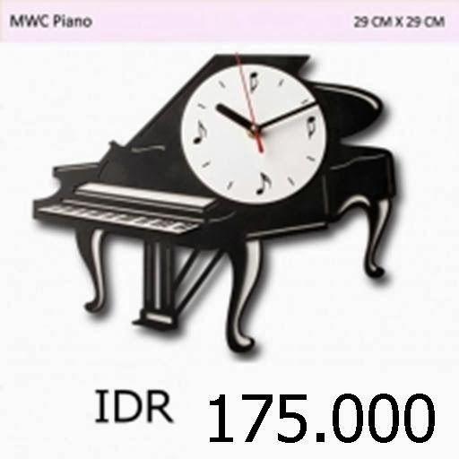 MWC Piano - GALLERY JAM DINDING UNIK