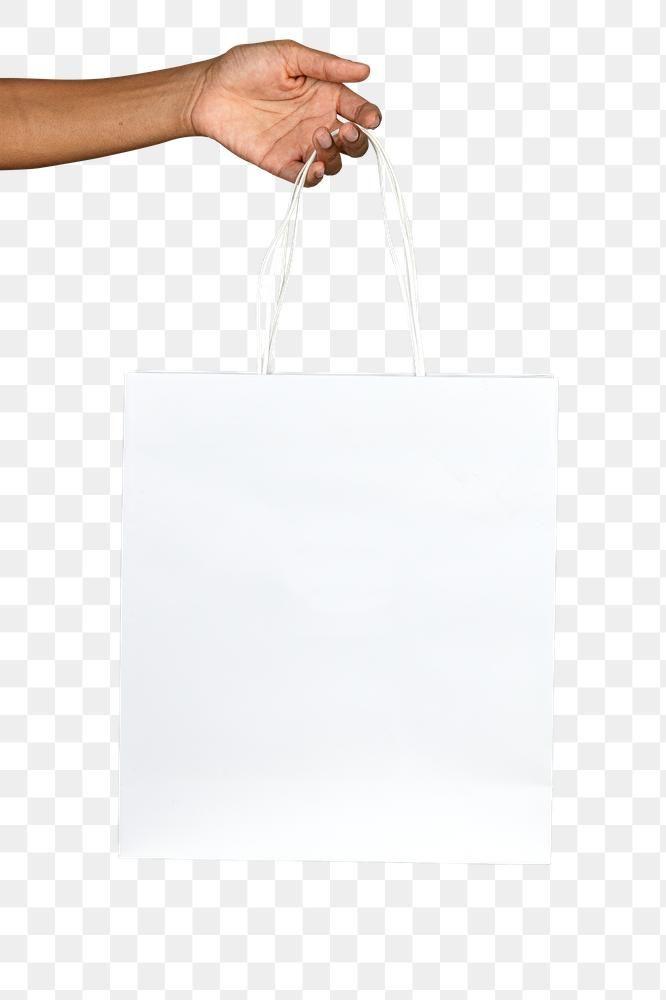 Black Woman Holding A White Paper Bag Mockup Free Image By Rawpixel Com Jira Bag Mockup Bags White Paper