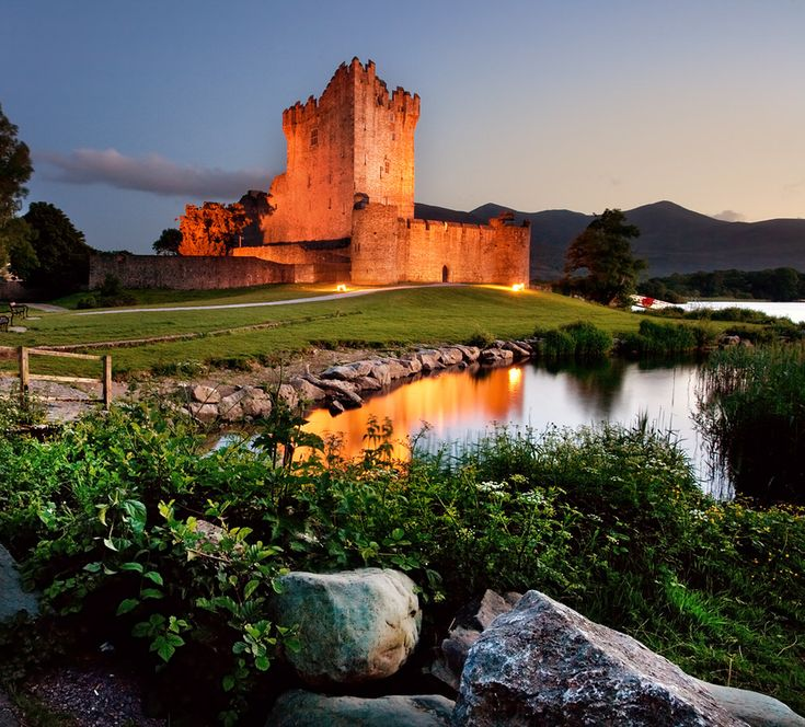 Ross Castle Killarney - by Stephen Emerson