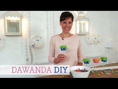 DaWanda DIY: Konfettikanone basteln