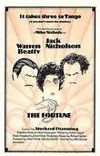 The Fortune (1975). [PG] 88 mins. Starring: Jack Nicholson, Warren Beatty, Stockard Channing, Florence Stanley and Scatman Crothers