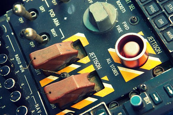 The typography of analogue control panels