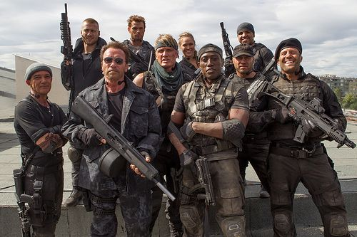 BRAY_20130903_EXP3_7690.dng   Barney, Christmas, and the rest of the team come face-to-face with Conrad Stonebanks, whose mission is to end The Expendables.  - http://theexpendables3film.com/