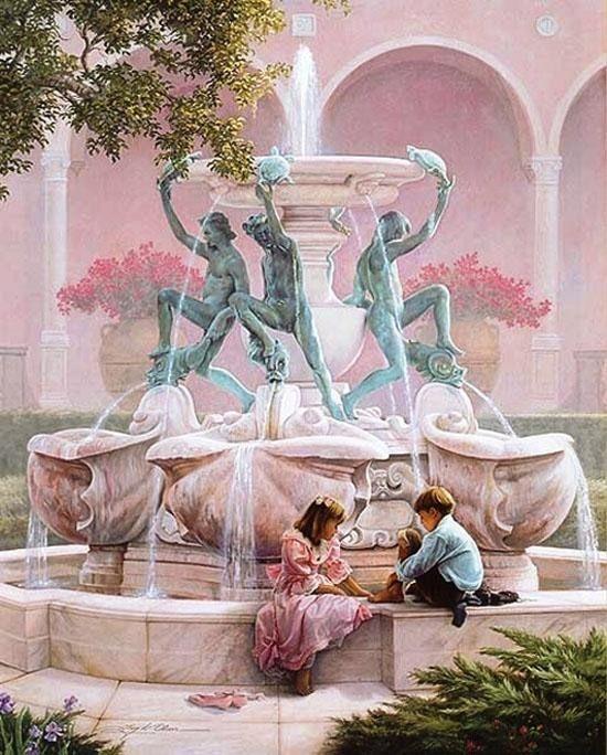Американский художник Greg Olsen родился в Айдахо-Фолс, штат Айдахо. Закончил Университет штата Юта, где он изучал искусство Источник: worldart.uol.ua/text/10256488/#cut