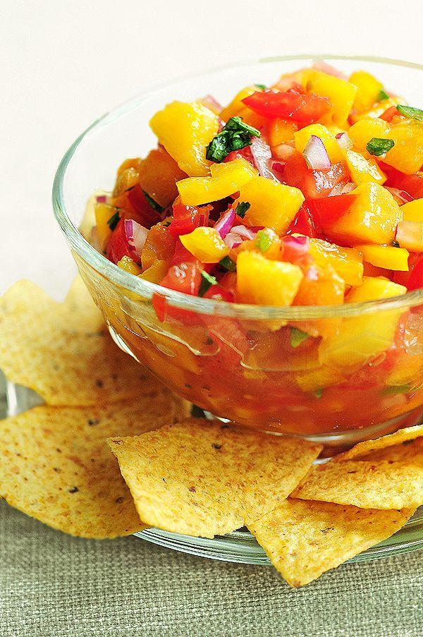 Peach Salsa Recipe