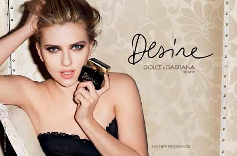 #Neu: #Desire von #Dolce und #Scarlett Johansson als Testimonial.