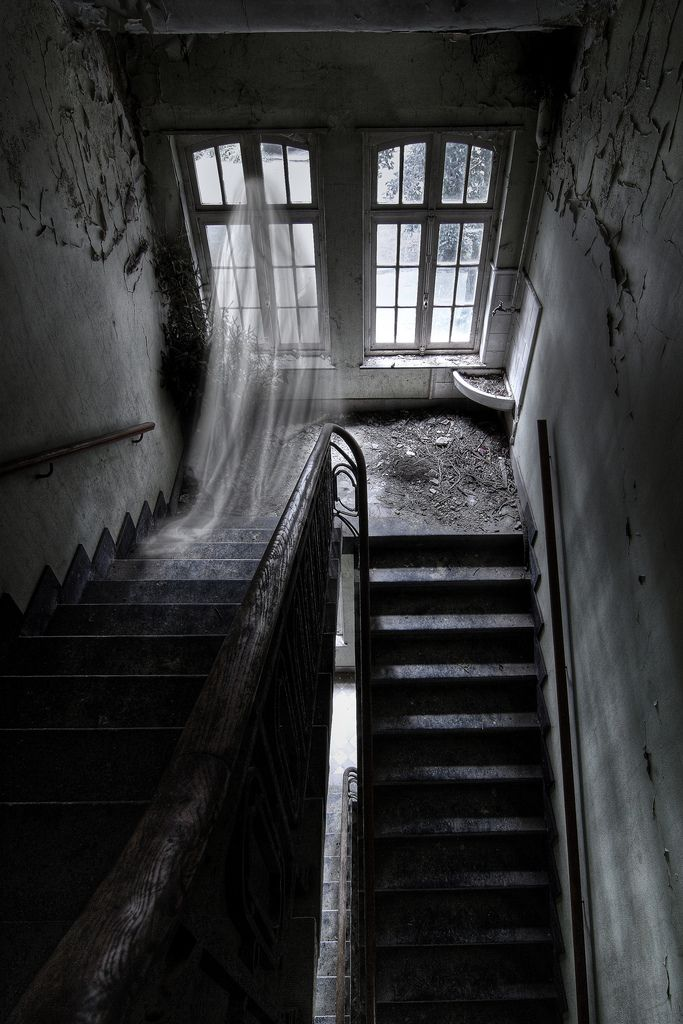 Ghost in a Haunted House.