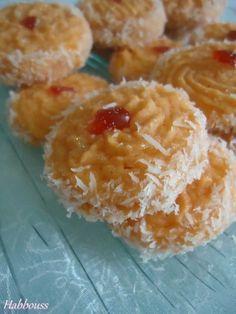 Biscuits à l'Orange et Noix de Coco