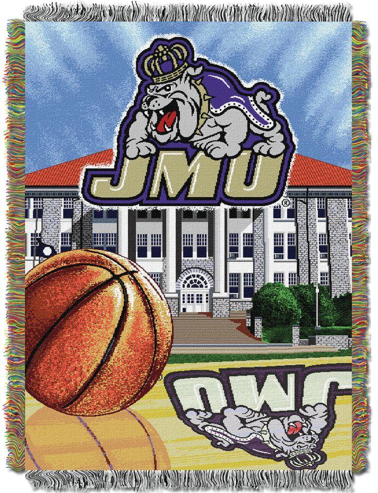 Collegiate James Madison University Throw