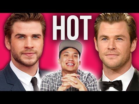 Straight Guys Review Hot Male Celebrities. I love a man who can look objectively at other men and say this kind of stuff