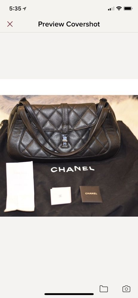 f33264fb2c10 Chanel handbag authentic vintage. Quilted Leather Shoulder Bag.  fashion   clothing  shoes  accessories  womensbagshandbags (ebay link)