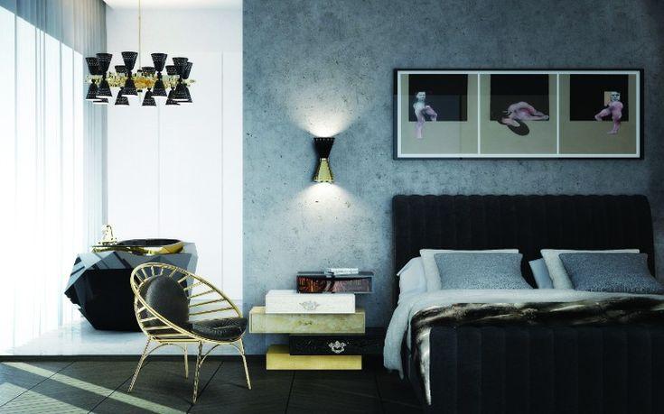 Frank nightstand for modern bedroom design | www.masterbedroomideas.eu #bedrooms #bedroomideas #modernbedroom #nightstands #modernnightstands #nightstandsideas #bedsidetables
