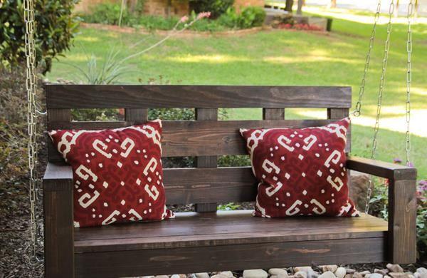 DIY Pallet Porch Swing Tutorial   99 Pallets