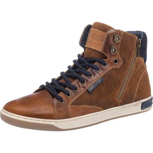 #BULLBOXER #Herren #Sneakers #braun Die BULLBOXER Sneakers zeigen sich in einem hohen Schnitt und bestehen im Obermaterial aus echtem Leder. Die gepolsterte Decksohle sorgt für ein angenehmes Tragegefühl.