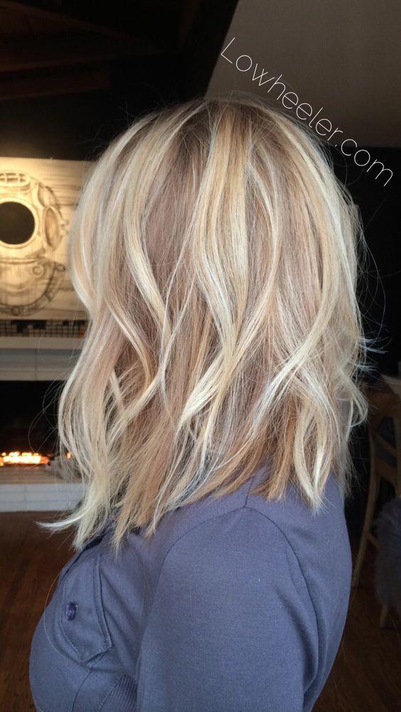 Balayage Blond Tres Clair