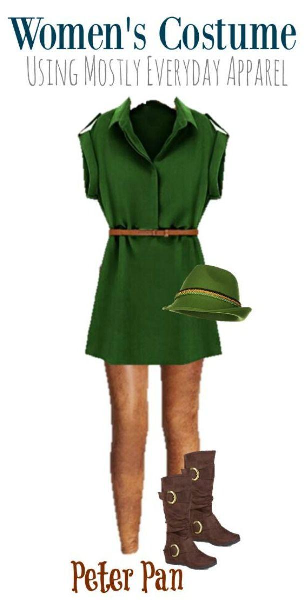 Peter Pan DIY Halloween Costume