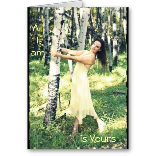 """Innocence & Beauty series card by Rachel Jacobs...""""All I am"""""""