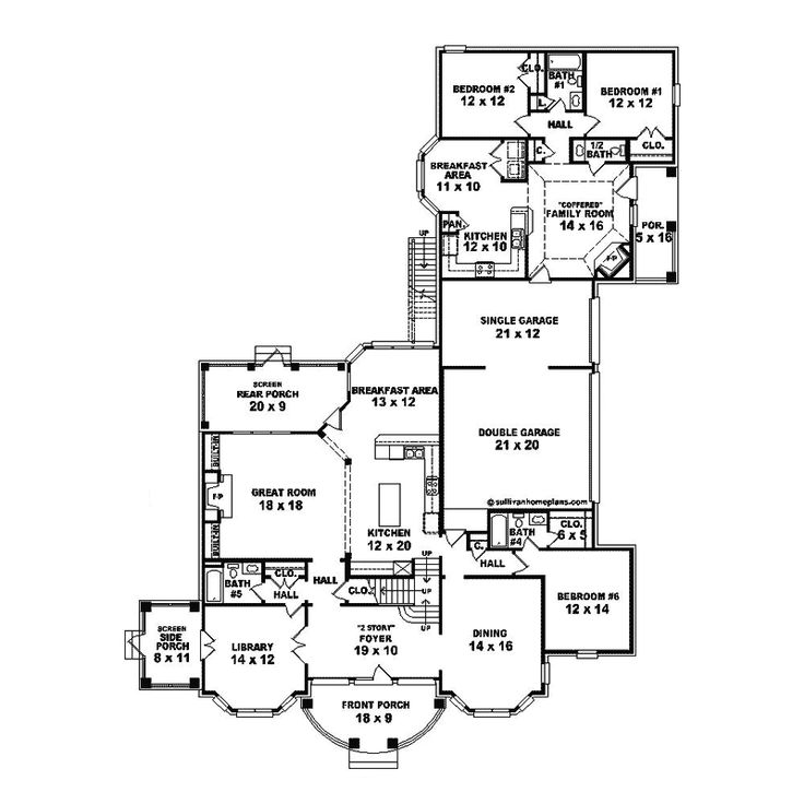 23 best images about multigenerational homes on pinterest for Garage guest house floor plans