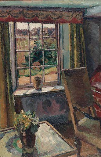 Duncan Grant, The Garden Room, Charleston