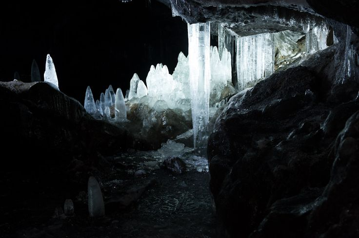 Guler Ice Caves - Gifford Pinchot NF -  near Trout Lake, WA
