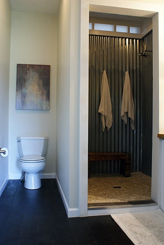 Pinterest for Corrugated iron bathroom ideas