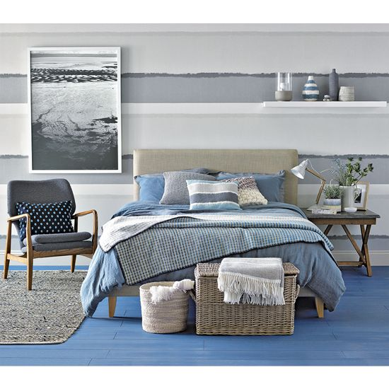 17 best ideas about coastal bedrooms on pinterest beach bedrooms coastal master bedroom and - Grey themed rooms ...