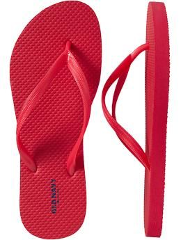 A must have!  At about $3 a pair you get comfy flip flops in almost every color of the rainbow.