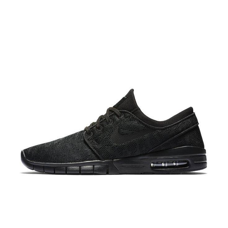 Nike SB Stefan Janoski Max Men's Skateboarding Shoe Size 11.5 (Black)