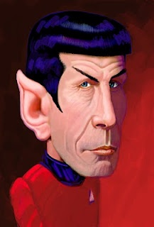 Mr. Spock  (by h. edward brooks)Art Caricatures, Celebrities S Caricatures, Mr Spock, Funny Mirrors, Leonard Nimoy, Edward Brooks, Brooks Celebrities, Celeb Caricatures, Celebrities Caricatures
