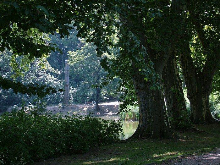 Royal garden, Hlohovec, Slovakia