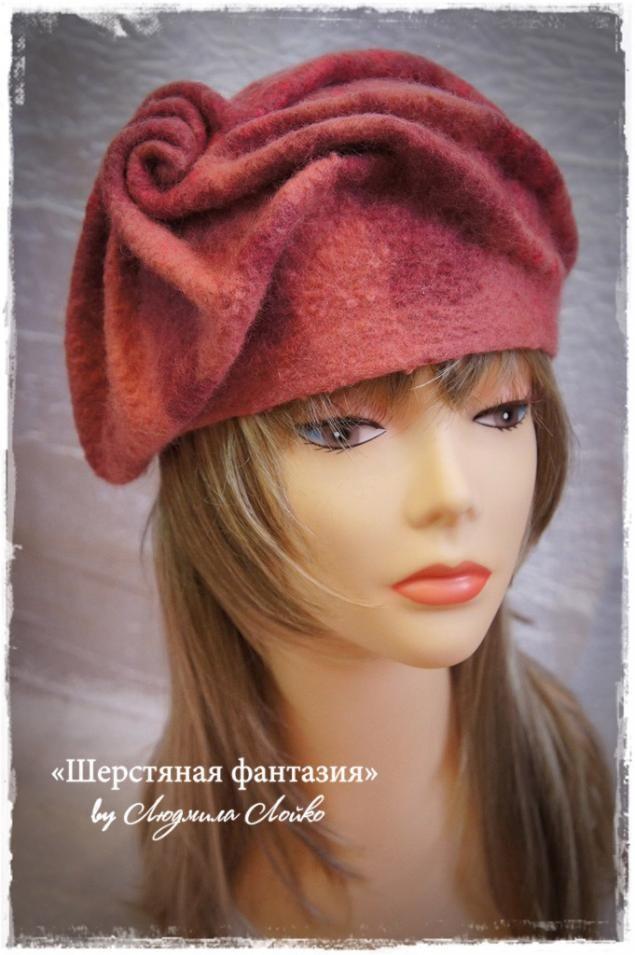 "Чудо из ничего - Вебинар по валянию ""Шляпка на основе французского берета"":"