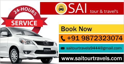 """""""Travel brings power and love back into your life."""" ― Rumi So Travel with Sai Tour & Travels. #Chandigarh #Mohali #Panchkula #Taxiservice #Touroperator"""