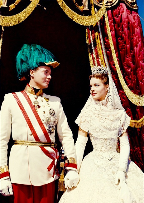 Romy Schneider and Karlheinz Böhm: The Fateful Years of an Empress, 1957.