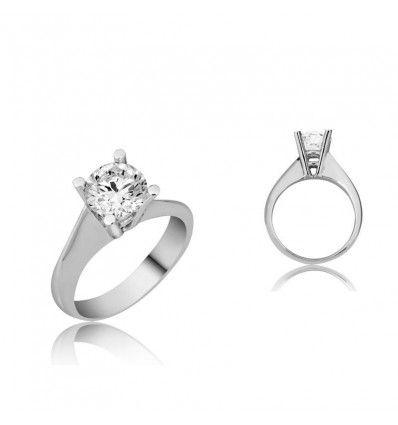 Tektaş 925 Ayar Gümüş Yüzük #tektaş #yüzük #love #gümüş #takı #trend #hediye #yılbaşı #evlilik