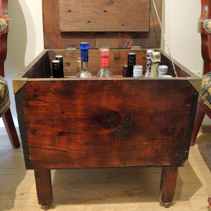 Half a century old  wooden box