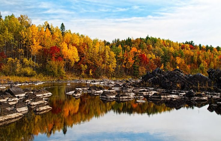 Jay Cooke State Park, Carlton, MN, US. For years, I've blasted right past this park in a hurry to get to Gooseberry Falls State Park. Love the rugged beauty, scads of biking and hiking options, and that you can hear the waterfalls from the campground.