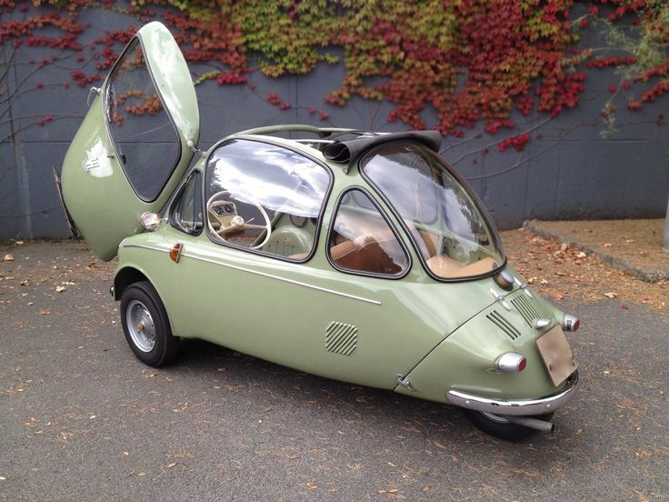 112016 Barn Finds 1956 Heinkel Kabine 150 2 Funny AutosCool CarsAuto